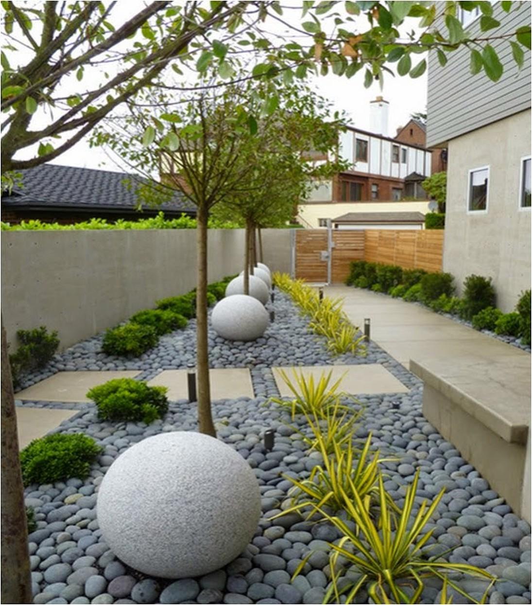 Сад частного дома своими руками фото