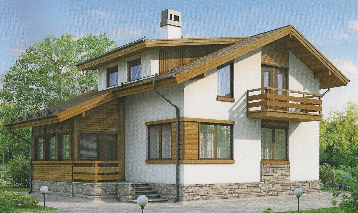 Bir bardan bir ev inşa etmenin modern teknolojisi