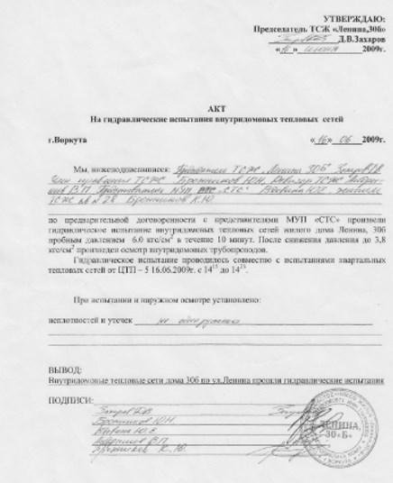 Акт на гидроиспытания теплообменника Насос-бустер для промывки теплообменников GEL BOY C120 Ачинск