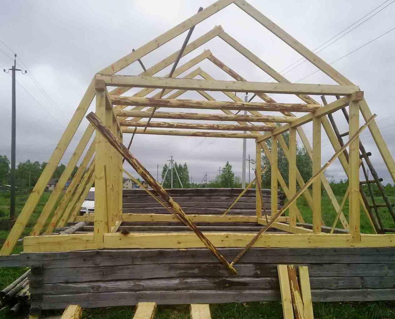Крыша своими руками 4 скатная как правильно построить фото 452