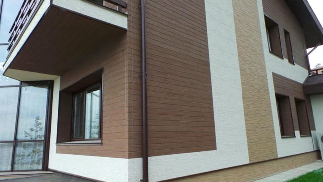 Paneles de pared de acabado exterior. Paneles de fachada de PVC: una ...