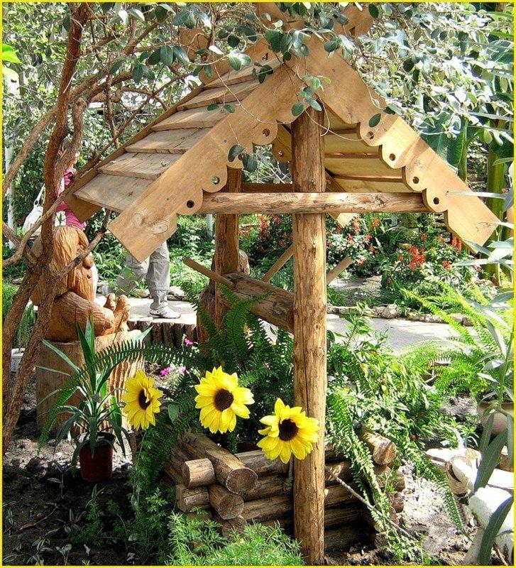 Сад в деревенском стиле своими руками 54
