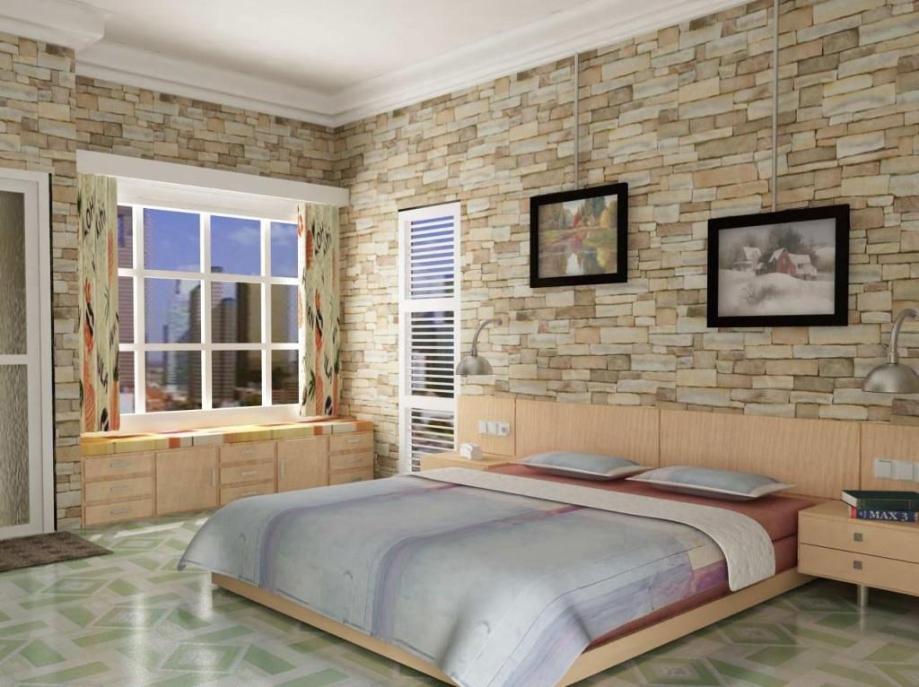 Ladrillos decorativos para interiores amazing mesita de - Ladrillo decorativo interior ...