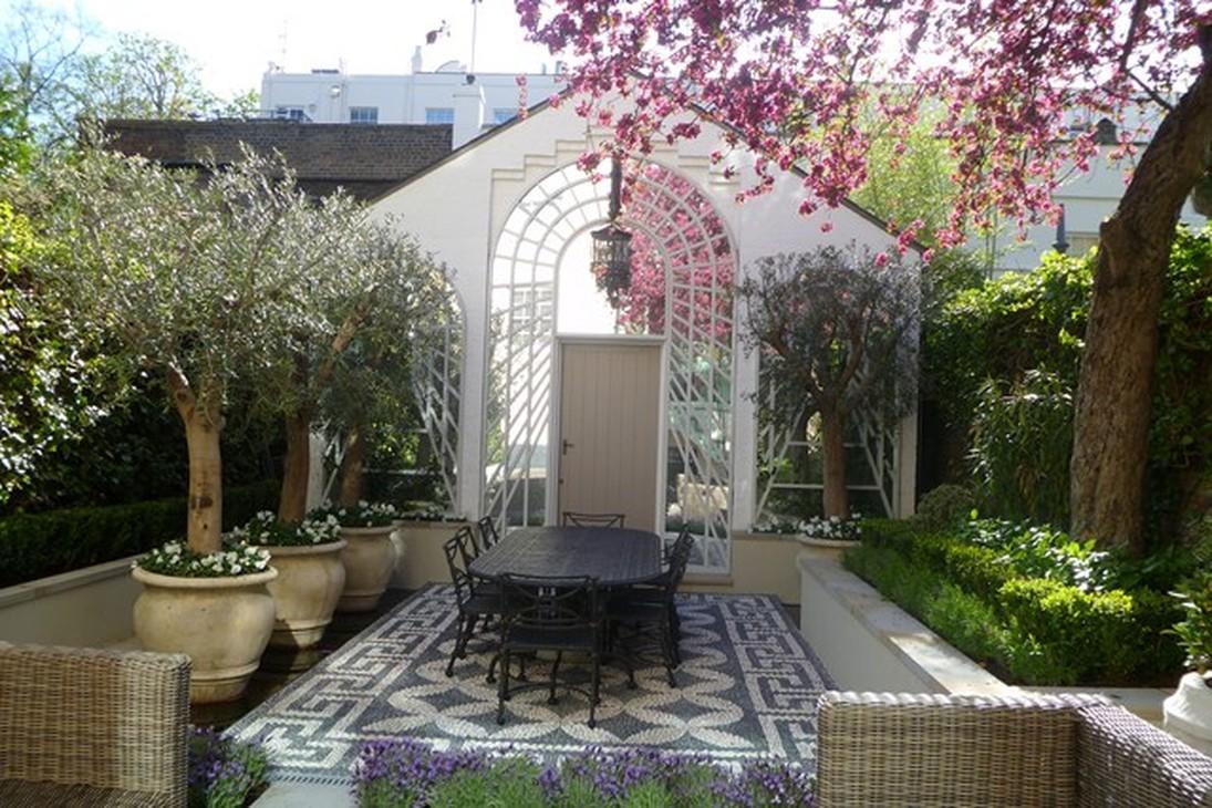 Как сделать двор красивым фото 908