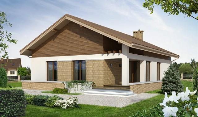 Fachadas de chalets de una planta best fachadas y planos for Fachadas de chalets de una planta