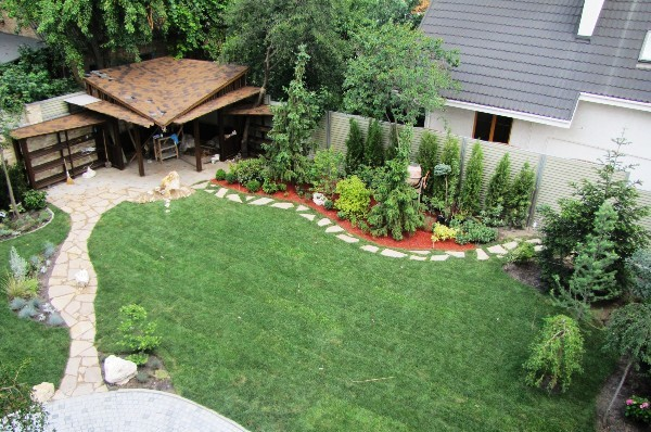 Дизайн садового участка 4 сотки своими руками - Блог Марисруб 83